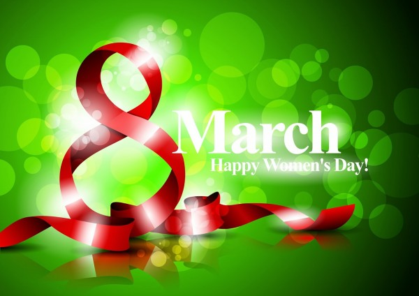 internatioanl happy women's day vector clip arts gretting card on 8th March (7)